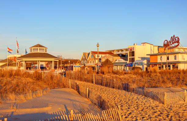 Rehoboth Beach, Delaware stock photo