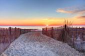 istock Rehoboth Beach, Delaware Sunrise 1208899088