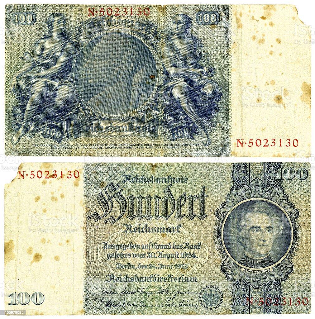 Reichsmark 100 (1935 – Foto
