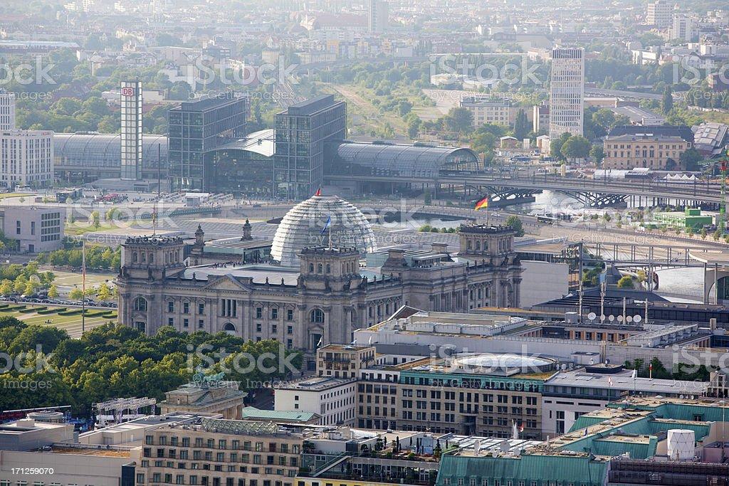 Reichstag – Luftaufnahme – Foto