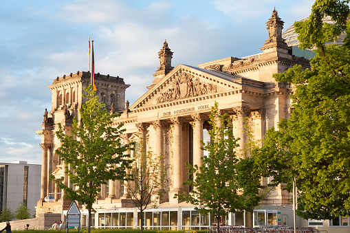 Reichstag, Berlin, Germany,,
