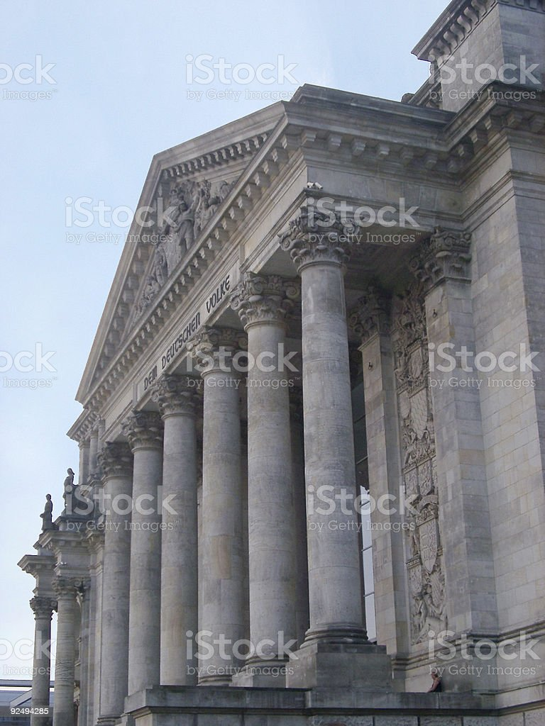 Reichstag, Berlin royalty-free stock photo
