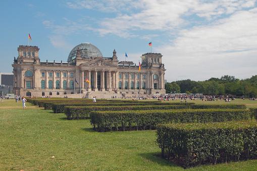 Reichstag building. Berlin, Germany