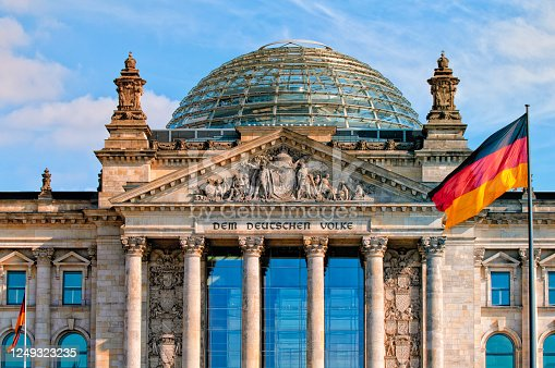 istock Reichstag building, Berlin, Germany 1249323235