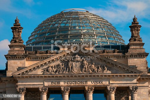 istock Reichstag building, Berlin, Germany 1249323514