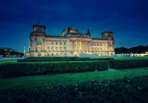 Reichstag building (German parliament), Berlin
