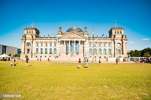 istock Reichstag Building in Berlin, Germany 1339367008