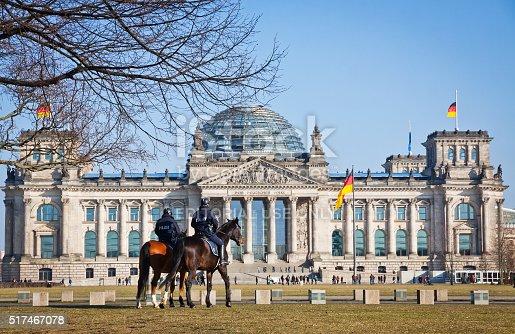 istock Reichstag (Bundestag) building in Berlin, Germany 517467078