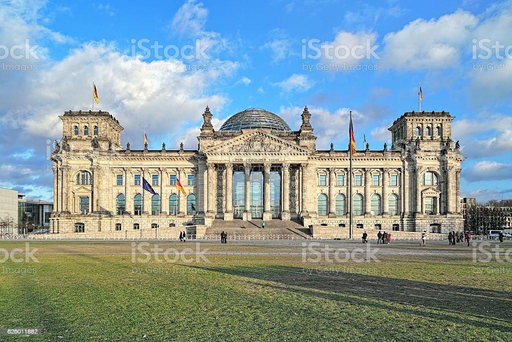 Reichstag in Berlin, Deutschland – Foto