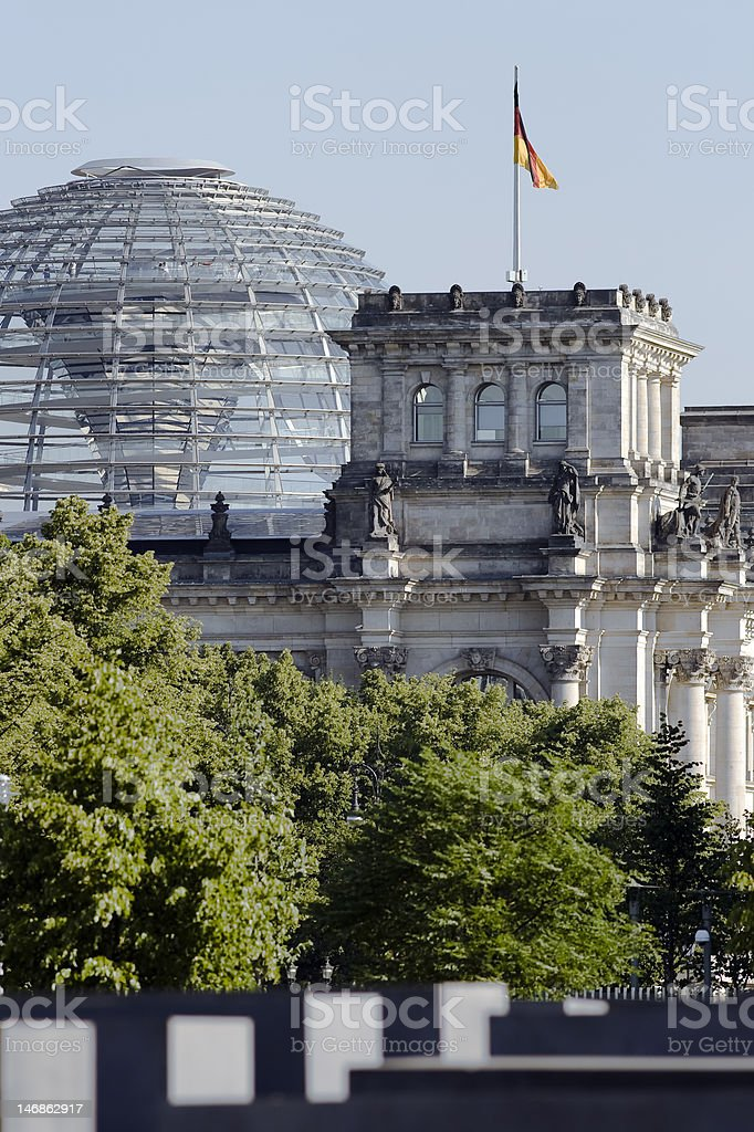 Reichstag Building royalty-free stock photo