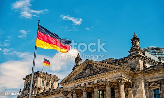 istock Reichstag building, seat of the German Parliament 1152163935