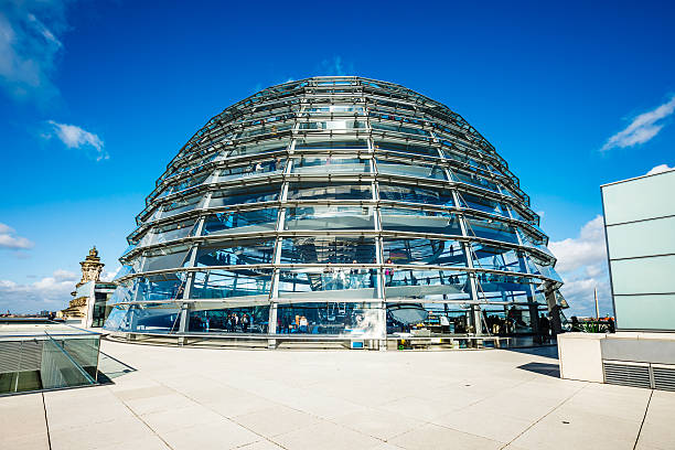 Reichstag building with dome in Berlin Reichstag building with dome in Berlin, Germany. cupola stock pictures, royalty-free photos & images