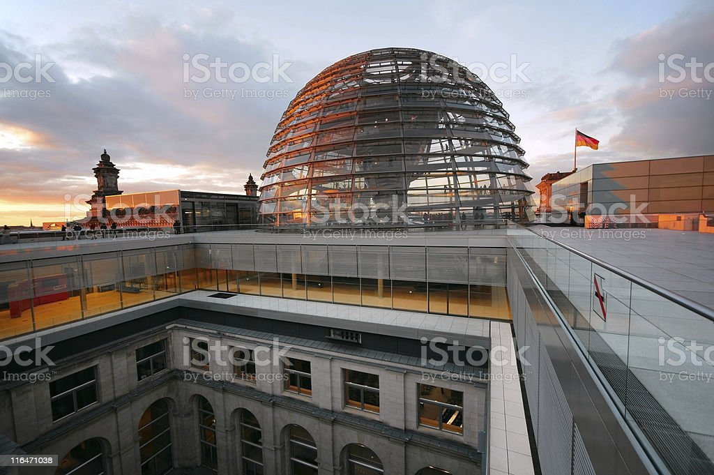 Reichstag / Bundestag in Berlin, Germany royalty-free stock photo