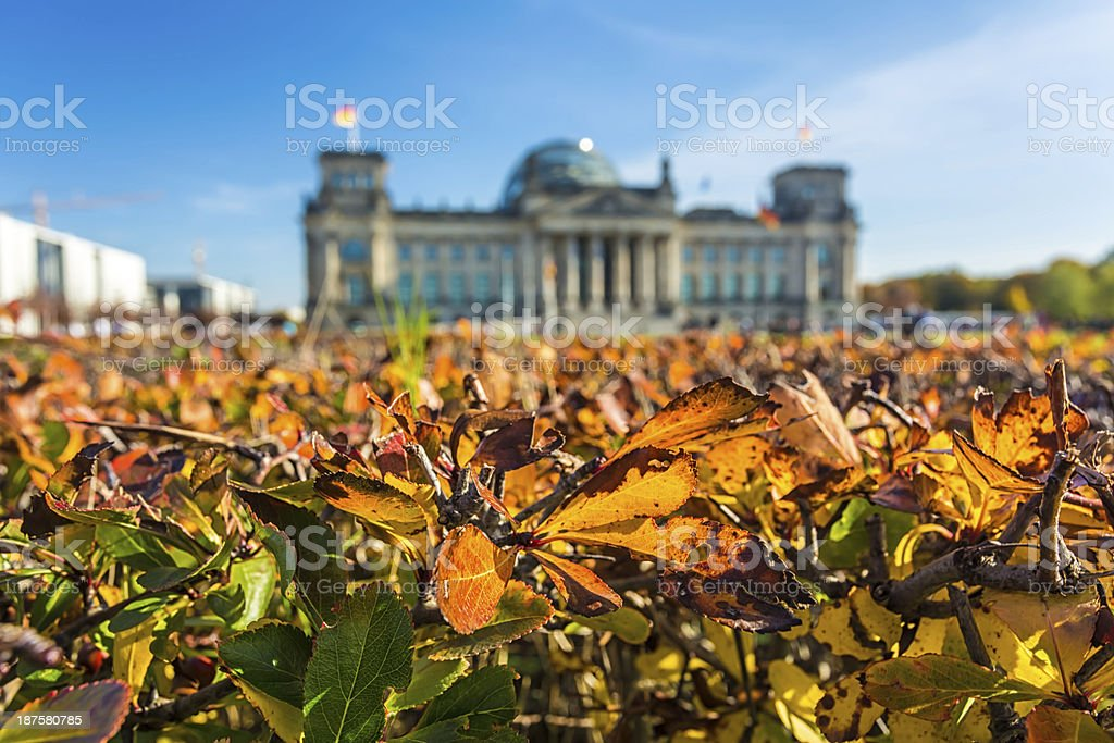 Reichstag in Berlin royalty-free stock photo