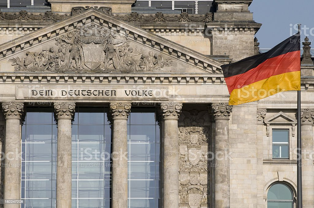 Reichstag royalty-free stock photo
