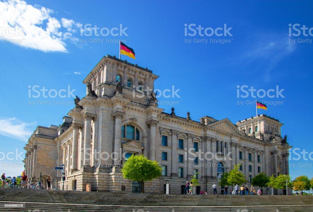 Reichstag/Bundestag - Gebäude des Deutschen Bundestages in Berlin/Hauptstadt – Foto