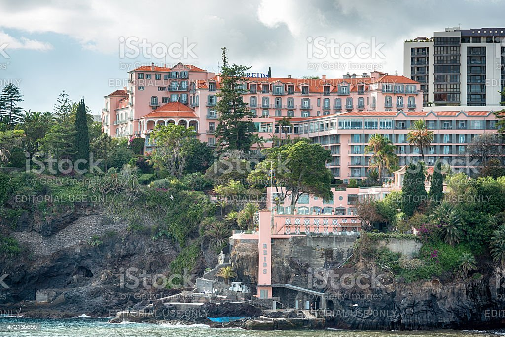 Reid's Palace Hotel ,Madeira stock photo