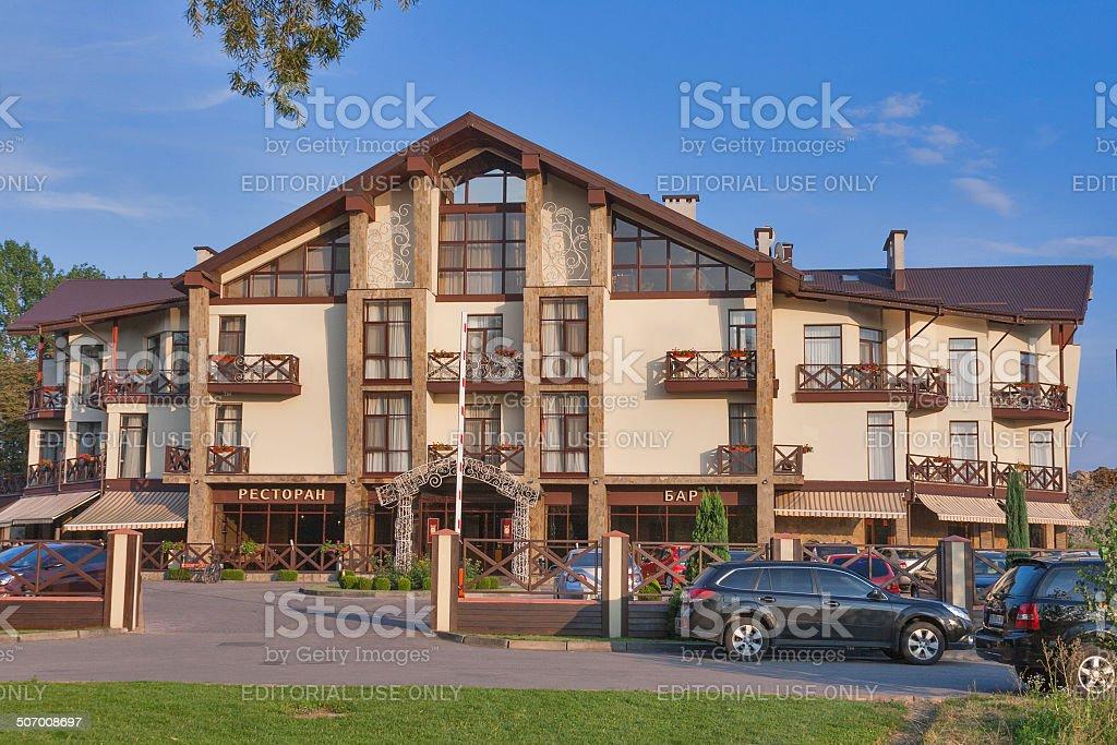 Reikartz Park Hotel in Ivano-Frankivsk stock photo