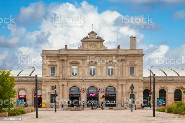 Reims Railway Station Stock Photo - Download Image Now