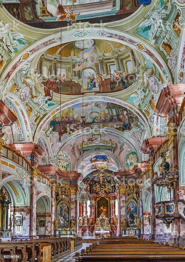 Rein Abbey, Austria stock photo