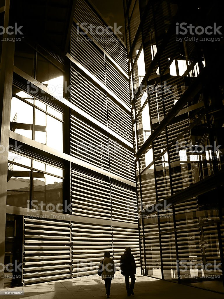 Reina Sofia Museum, Madrid royalty-free stock photo