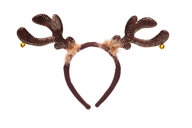 reindeer horns - antlers stock photos and pictures