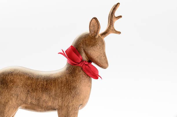 reindeer profile stock photo