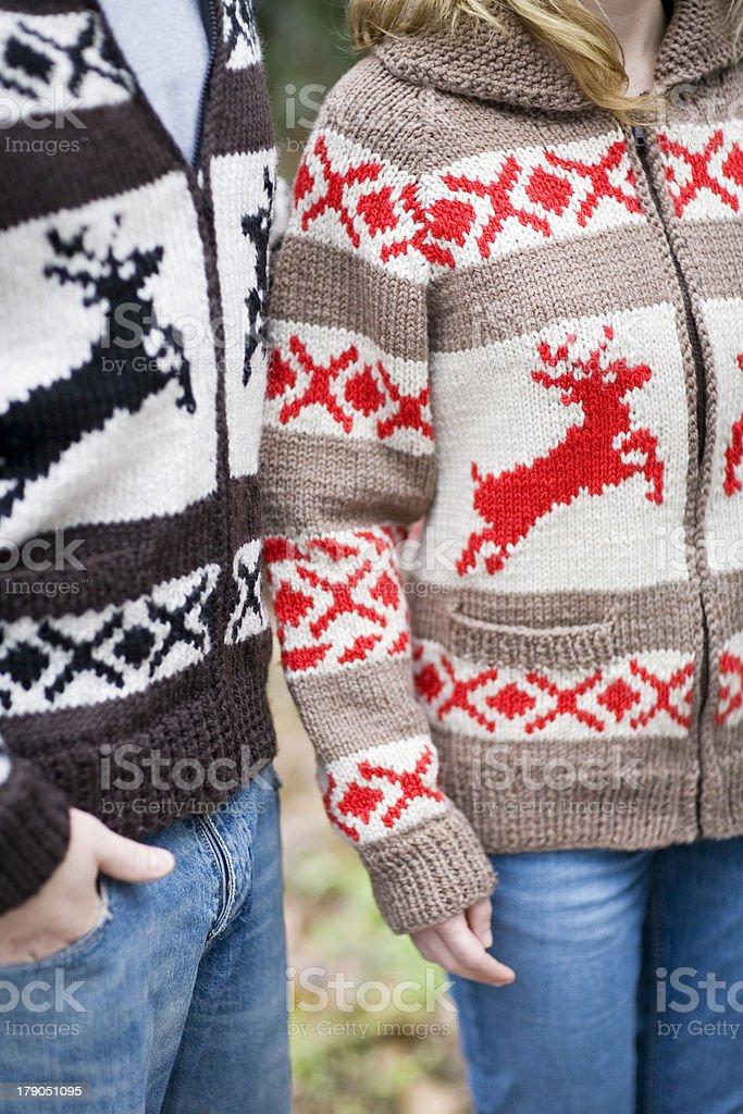 Reindeer Sweaters royalty-free stock photo
