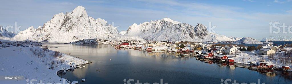 Reine, Lofoten Islands royalty-free stock photo