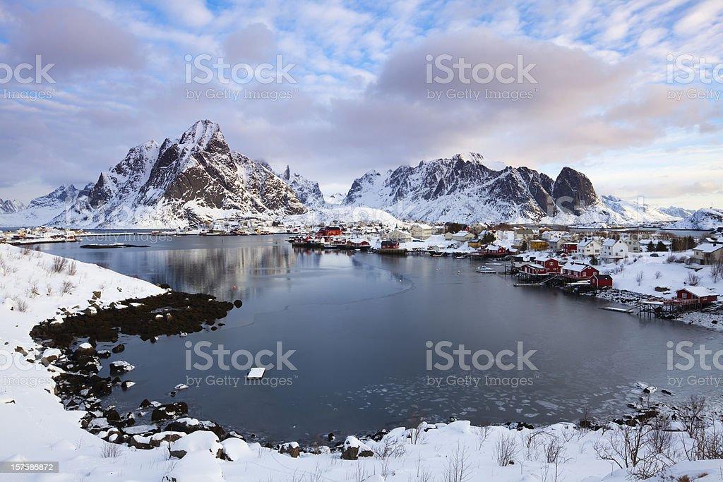 Reine, Lofoten royalty-free stock photo