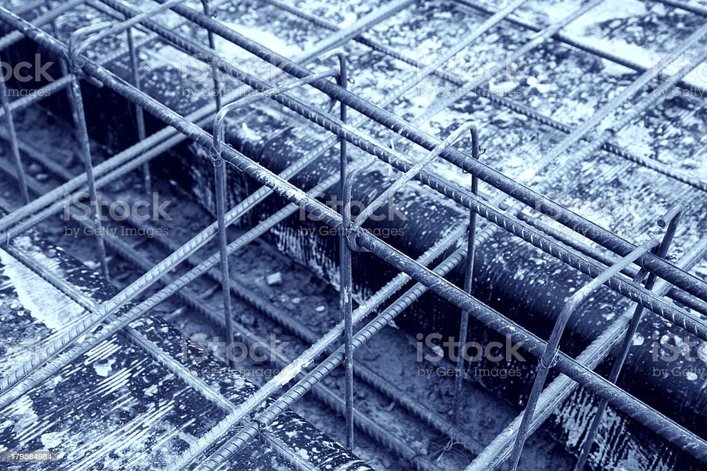 reinforce iron cage royalty-free stock photo
