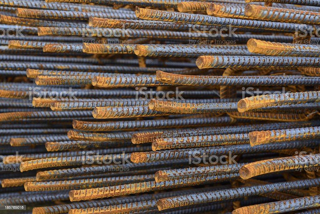 reinforce steel iron rod royalty-free stock photo