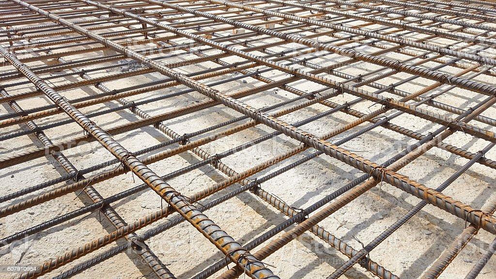 Reinforcement metal framework. - Photo