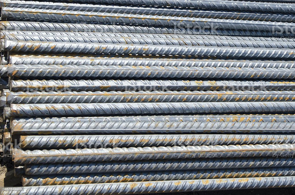 Barras De Refuerzo De Acero Para Construcción De Inducción Foto de stock y  más banco de imágenes de Acero - iStock