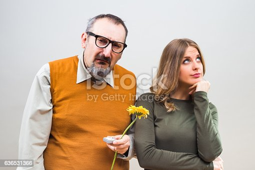 istock Rejected marriage proposal 636531366