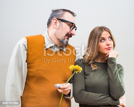 istock Rejected marriage proposal 636782894