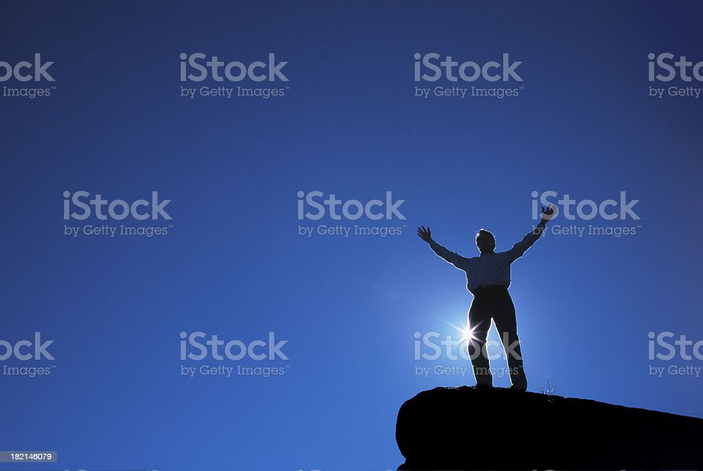 Rejoice 2 royalty-free stock photo