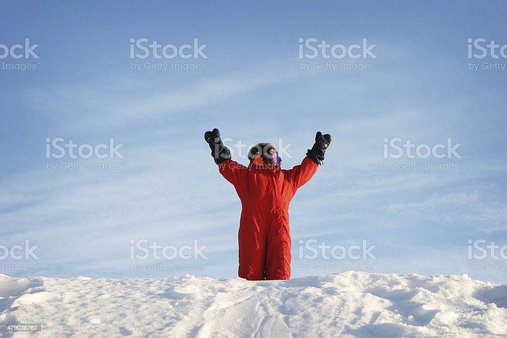 Rejoice! royalty-free stock photo