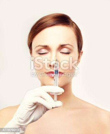 istock Rejuvenation.Prepare to Injection of beauty products 477829013