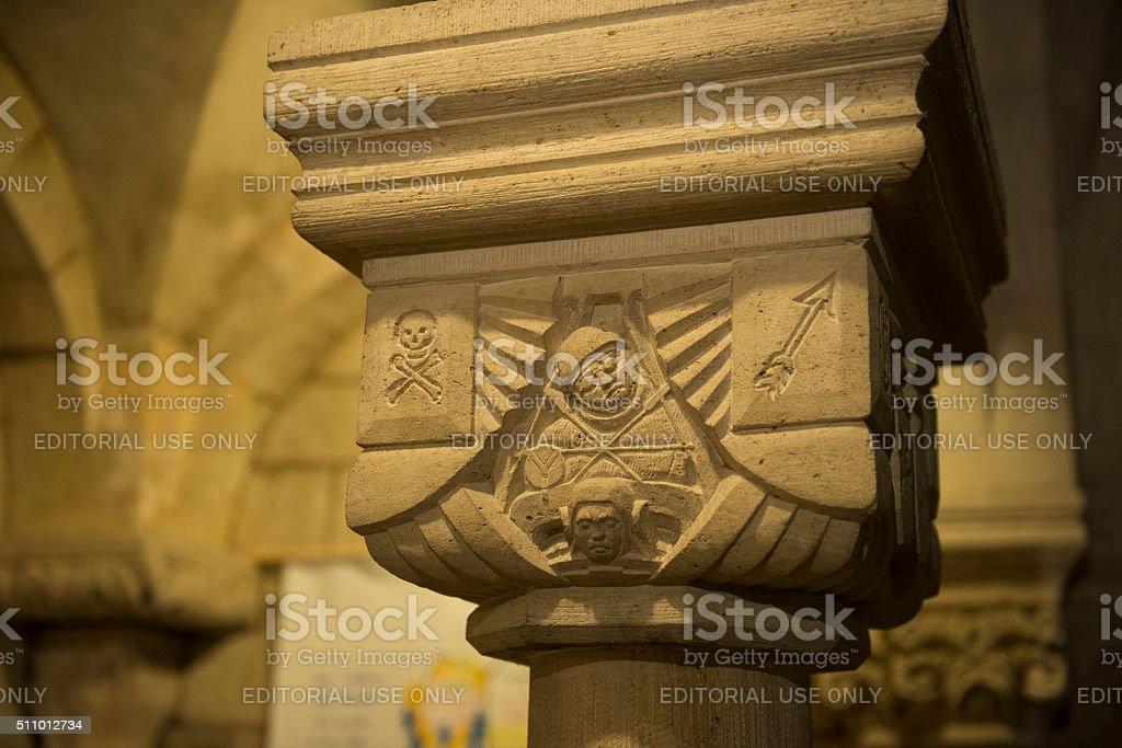 I WOJNA ŚWIATOWA związane z pomocy arbuza w Krypta z Verdun Katedra, Francja – zdjęcie