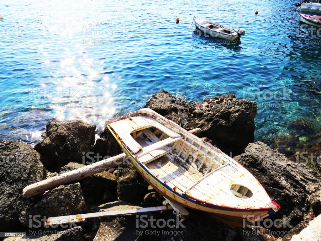 relating rowboat stock photo