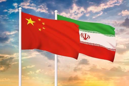 istock Relationship between the China and the Iran 1187326482