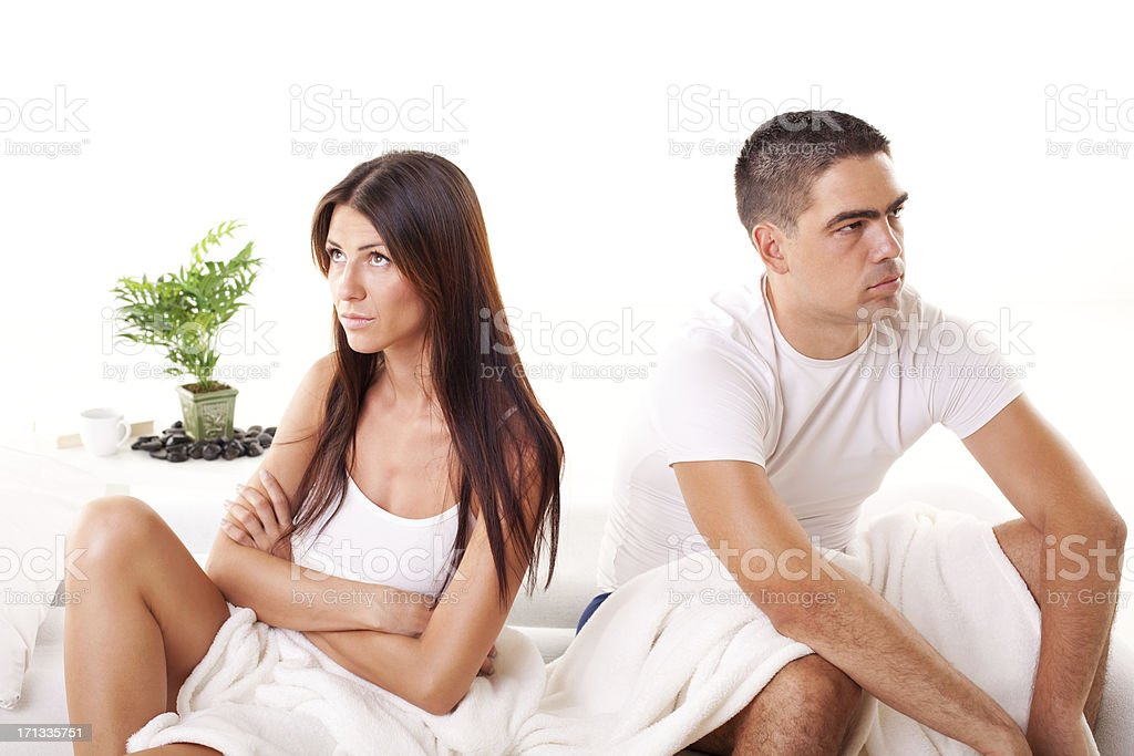Relationship conflict royalty-free stock photo