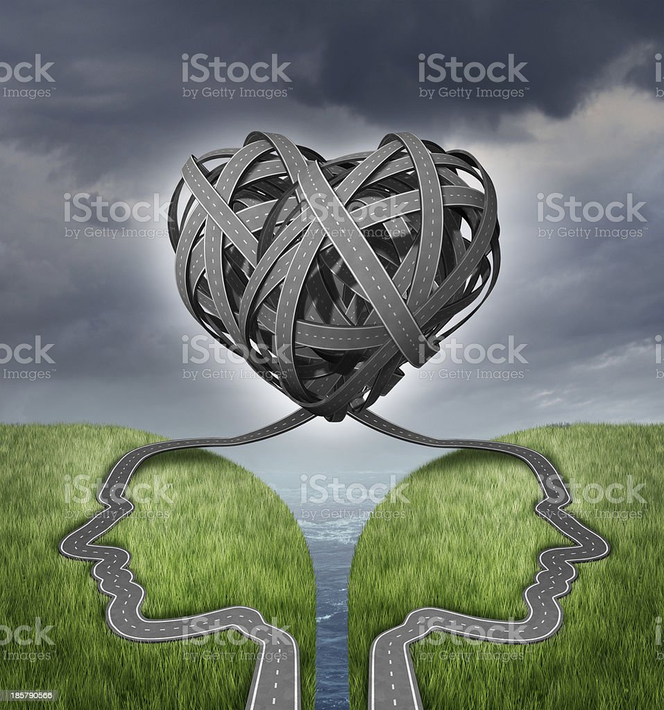 Relationship Direction stock photo