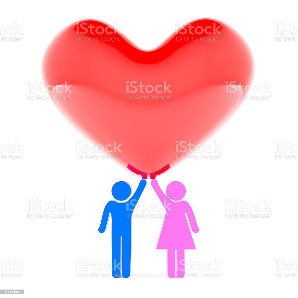 Relationship royalty-free stock photo