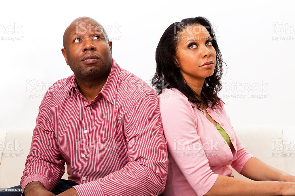 Relationship Problems royalty-free stock photo