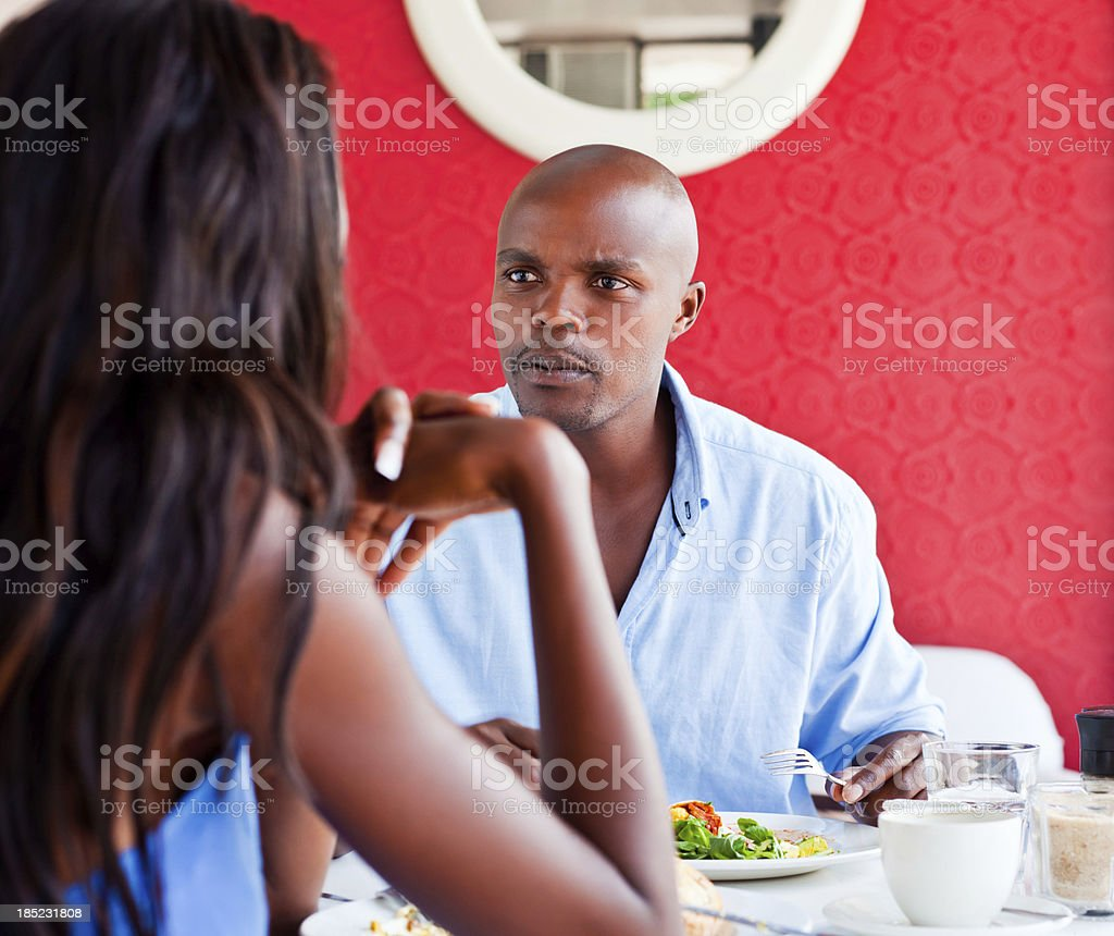 Relationships difficulties royalty-free stock photo