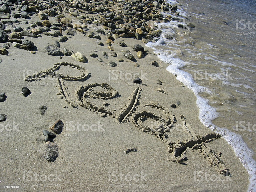 Relax 2 royalty-free stock photo