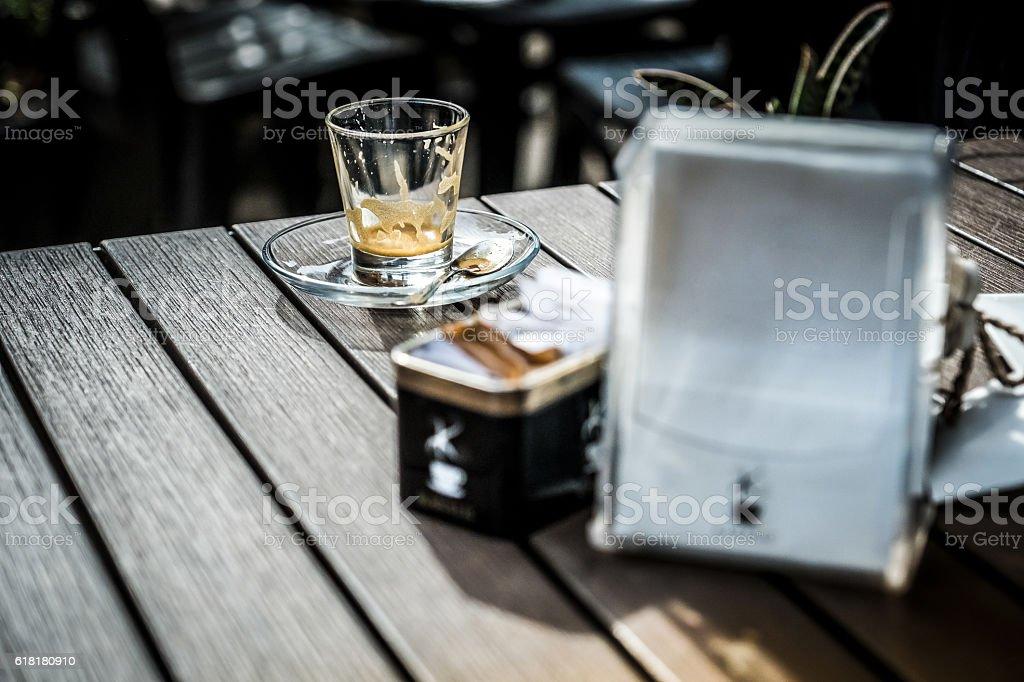 Relax al Bar stock photo