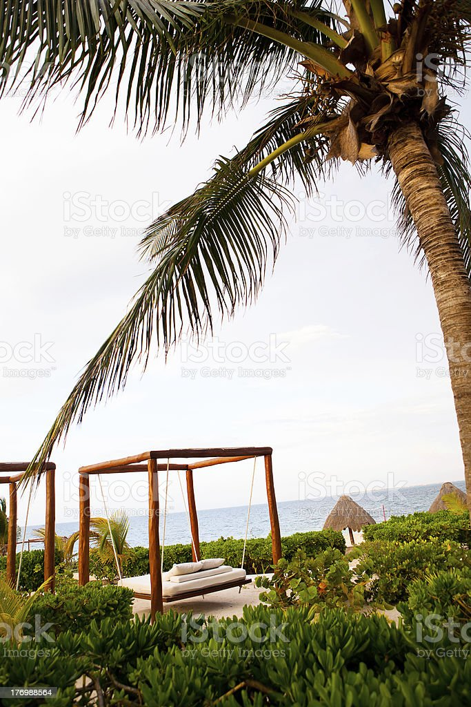 Relax at the Beach royalty-free stock photo